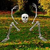 Creepy Graveyard Halloween Décor Ground Breaker Skeleton for Halloween  (Small Image)
