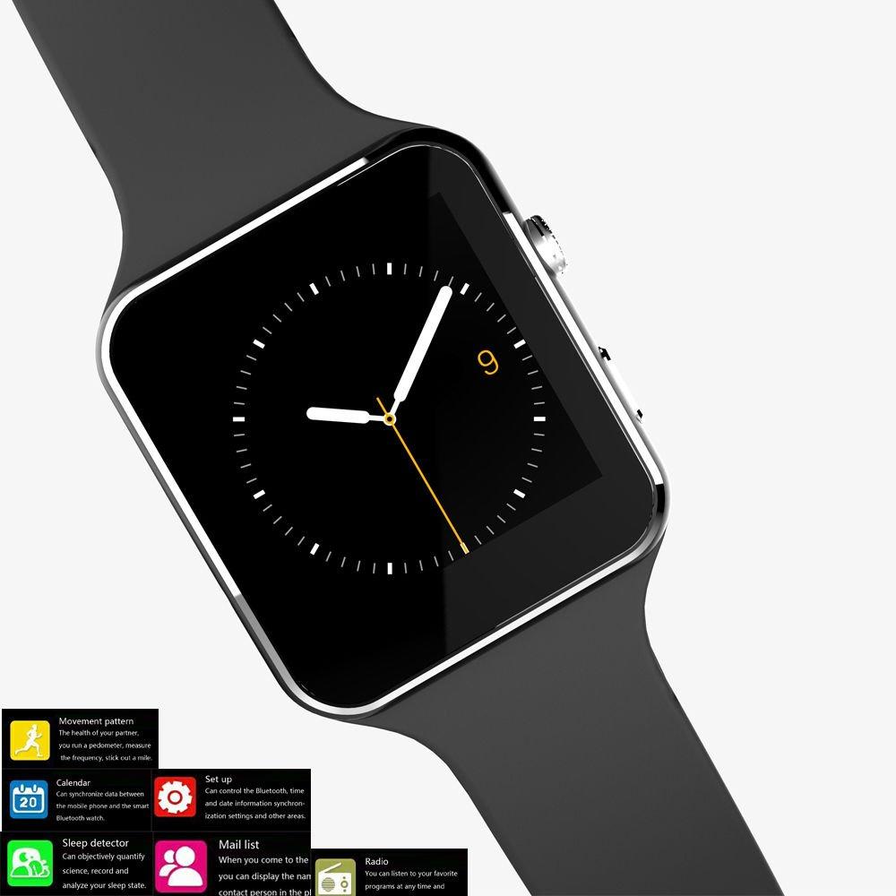 Reloj teléfono móvil, facleta X6 Plus reloj inteligente SmartWatch ...