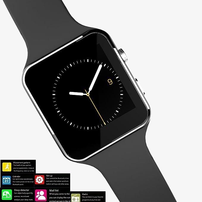 Reloj teléfono móvil, facleta X6 Plus reloj inteligente ...