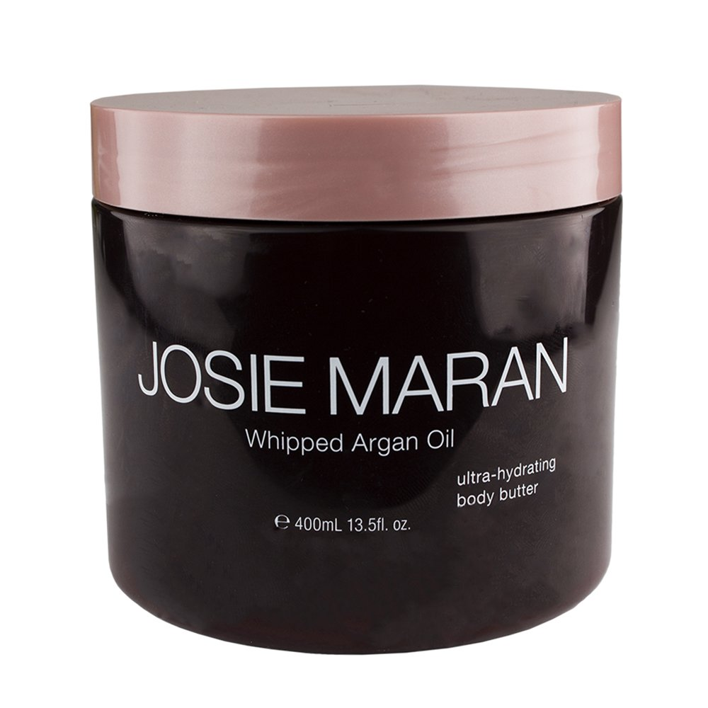 Josie Maran Whipped Argan Oil Ultra-Hydrating Body Butter (13.5 fl oz./400mL, Unscented)