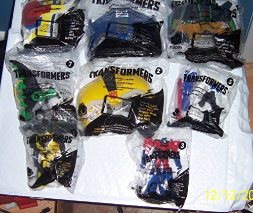 2016 McDonalds Happy Meal Toys Transformers complete set
