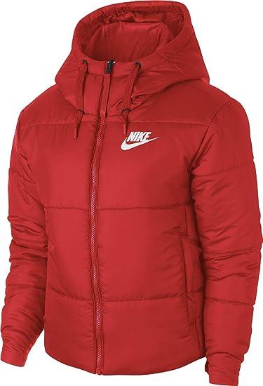 Nike - Chaqueta - para Mujer Habanero Red/White M: Amazon.es: Ropa y accesorios
