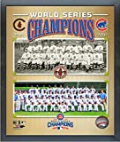 "Chicago Cubs 1908 & 2016 World Series Champions Team Photo (Size: 12"" x 15"") Framed"