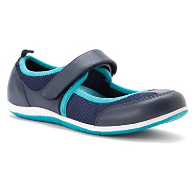 153d554bc18f Vionic Ailie Womens Mary Jane Athletic Shoe Navy - 6.5