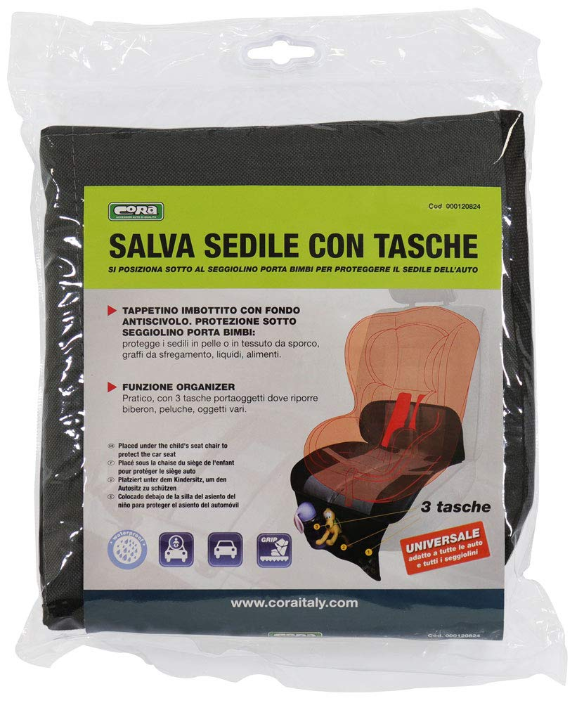 Amazon.com: Cora 000120824 Seat Protector: Automotive