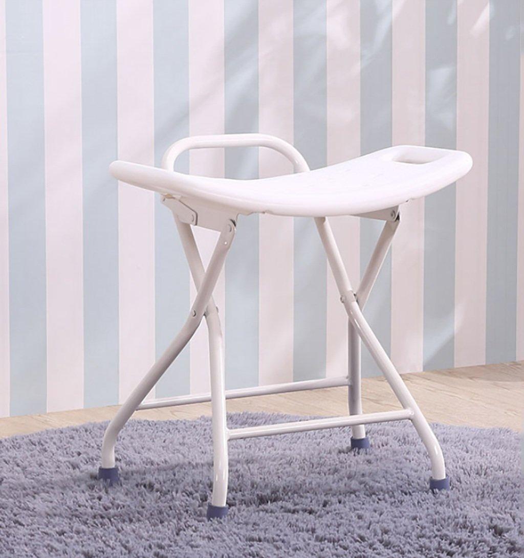 大人気新作 アルミのバスの椅子老人浴室の椅子折りたたみシャワーチェア妊娠中の女性のバススツール滑り止めバススツール   B07GGVHVNX, CIRCLE:fabbceb2 --- efichas.com.br