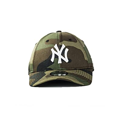c6411eb7999 Image Unavailable. Image not available for. Colour  New Era Cap – 9Forty  Mlb New York Yankees League Essential green multicolor white
