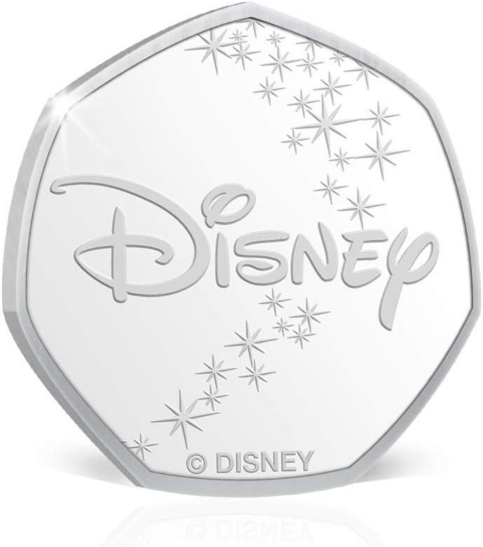 Carte Vierge avec pi/èce de Monnaie Souvenir de 50p Incluse IMPACTO COLECCIONABLES Carte danniversaire Disney Princess Mulan