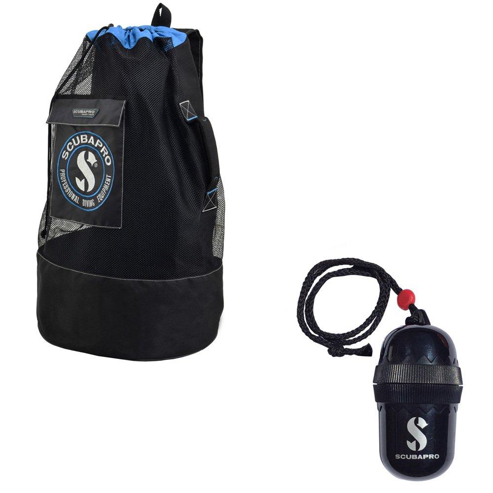 Scubapro Scuba Pro Mesh Sack Divers Egg Dry-Box w/String Black