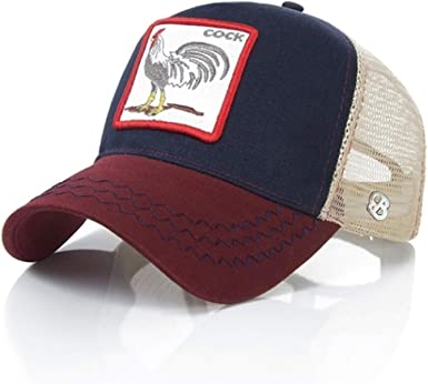 Gorra Animal Gallo/Cock de Baseball con Visera Curva Trucker ...