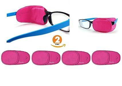 4 parches médicos de oclusión para lentes de niños marca Hayatec. Para tratar la ambliopía. Para lentes de 85 x 50 cm