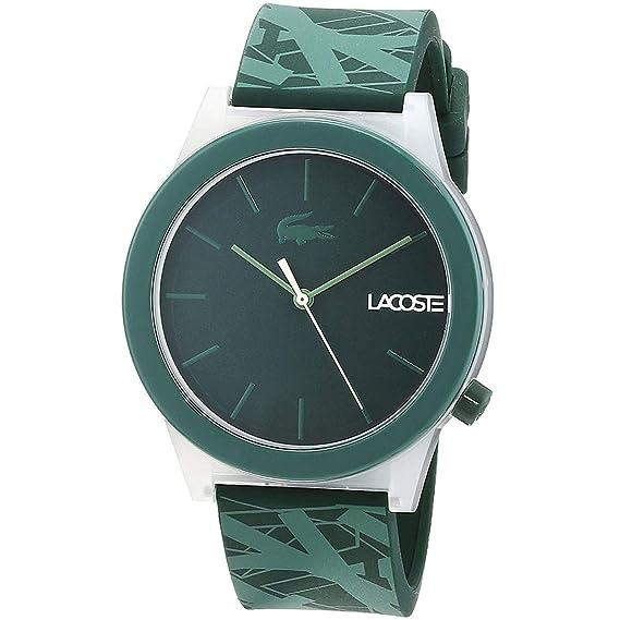 Lacoste Reloj Análogo clásico para Hombre de Cuarzo con Correa en Silicona 2010932: Amazon.es: Relojes