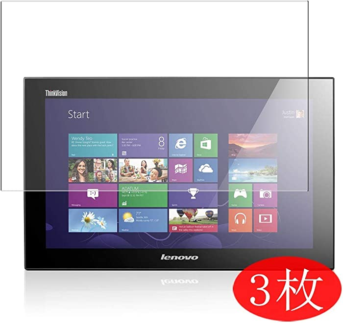 【3 Pack】 Synvy Screen Protector for Lenovo thinkvision LT1423P 13.3