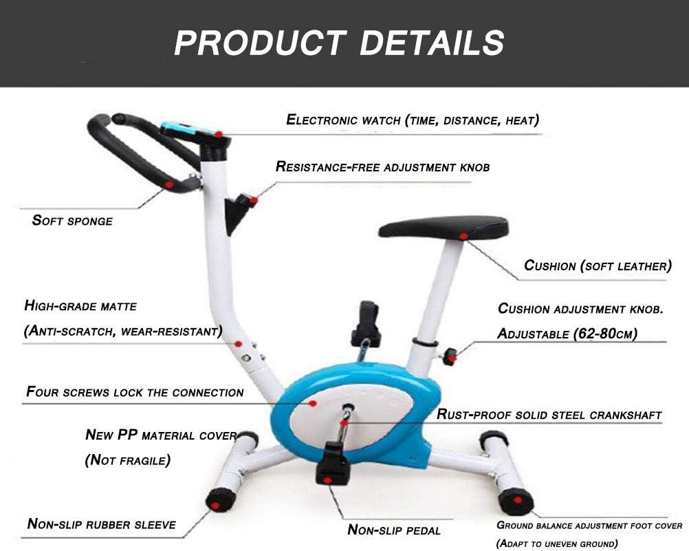 BF-DCGU Las Bicicletas de Ejercicio en casa, Bicicletas estáticas, Cardio Training Bici, Ciclo, pérdida de Peso, pérdida de Peso, Piernas Hermosas, adecuados para el hogar u Oficina: Amazon.es: Hogar