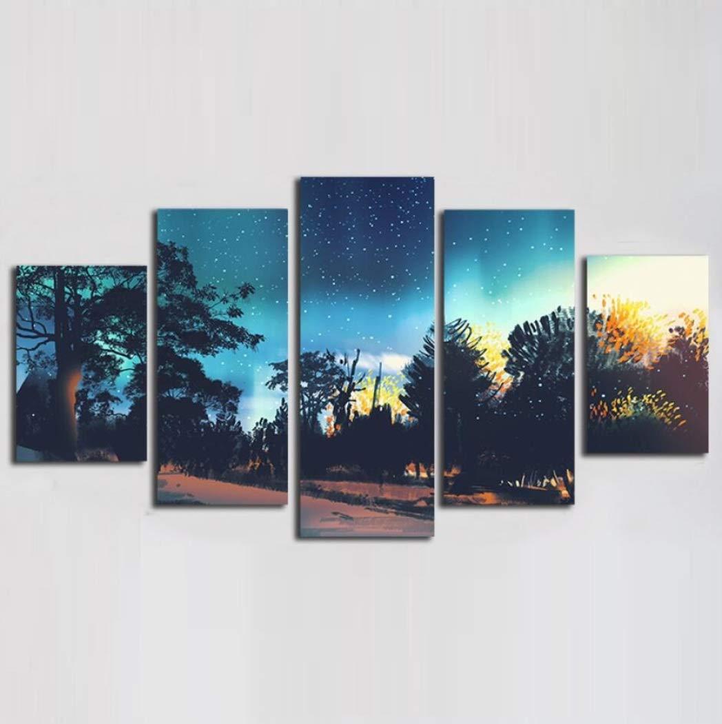 Imprime la pintura sin marco de pared, pinturas decorativas