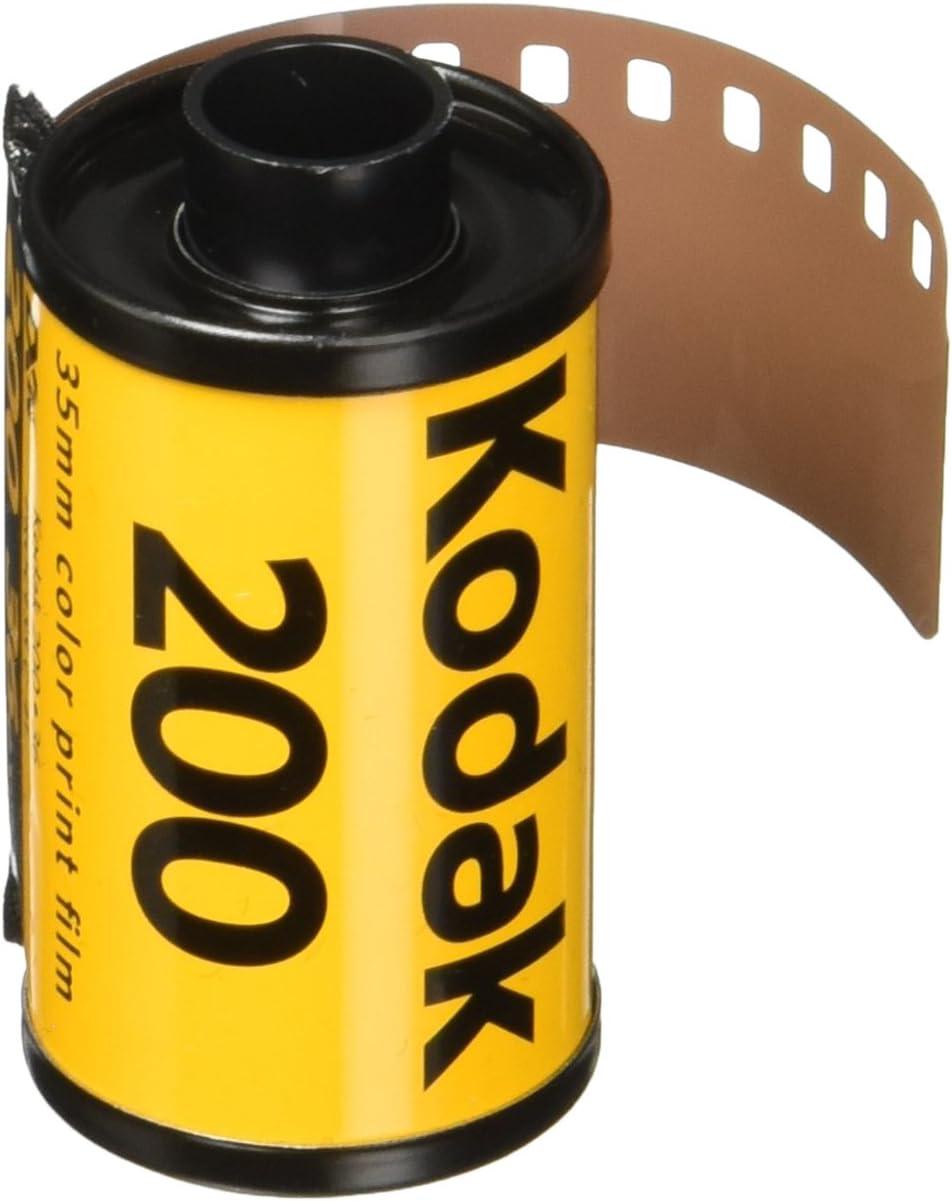 kodak 1880806 Gold 200 Film, GB13536-H - Pack of 3 (Yellow/Purple)