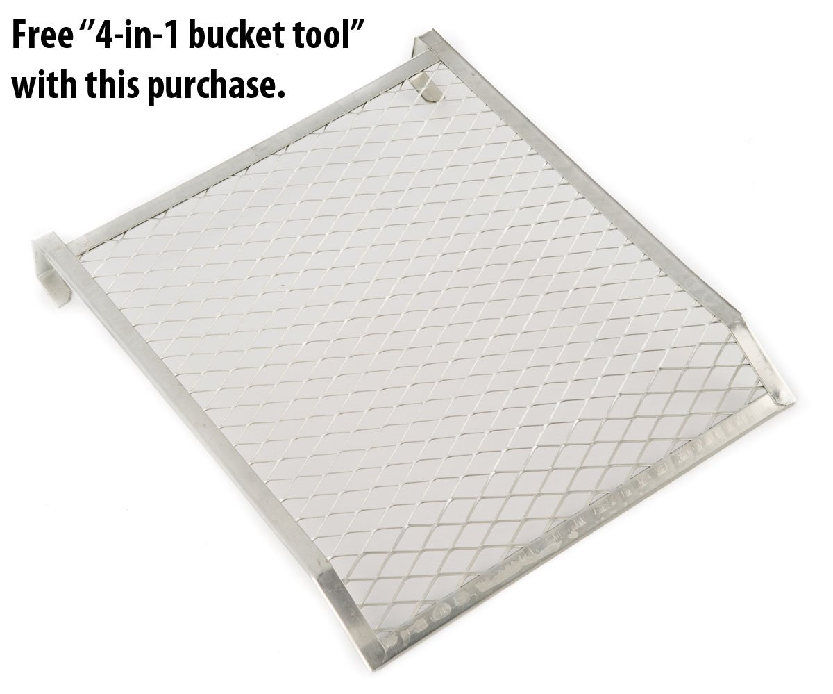 Heavy Duty 5 Gallon Bucket Paint Grids 24-pack by Workshop Solutions, LLC