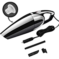 ICOICO Car Vacuum Cleaner Hand Automotive Vacuum Cleaner Portable Auto Dust Buster for DC 12V Vehicles Including 120W High Power 5000PA Strong Suction Wet&Dry Use Low Noise Long Power line