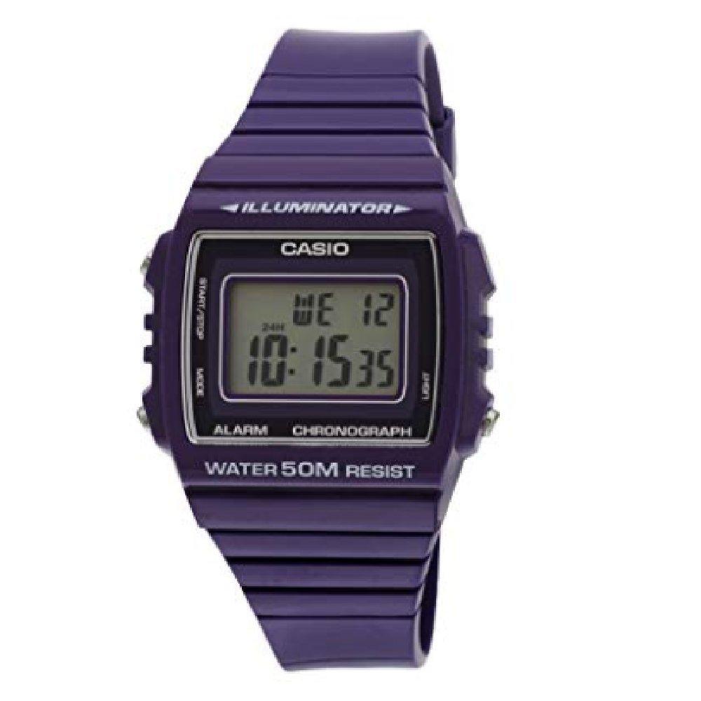 Casio Unisex Illuminator Purple Resin Chronograph by Casio