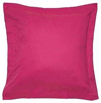Sancarlos - Combicolor Funda de cojin, 60x60 cm, color rosa: Amazon.es: Hogar