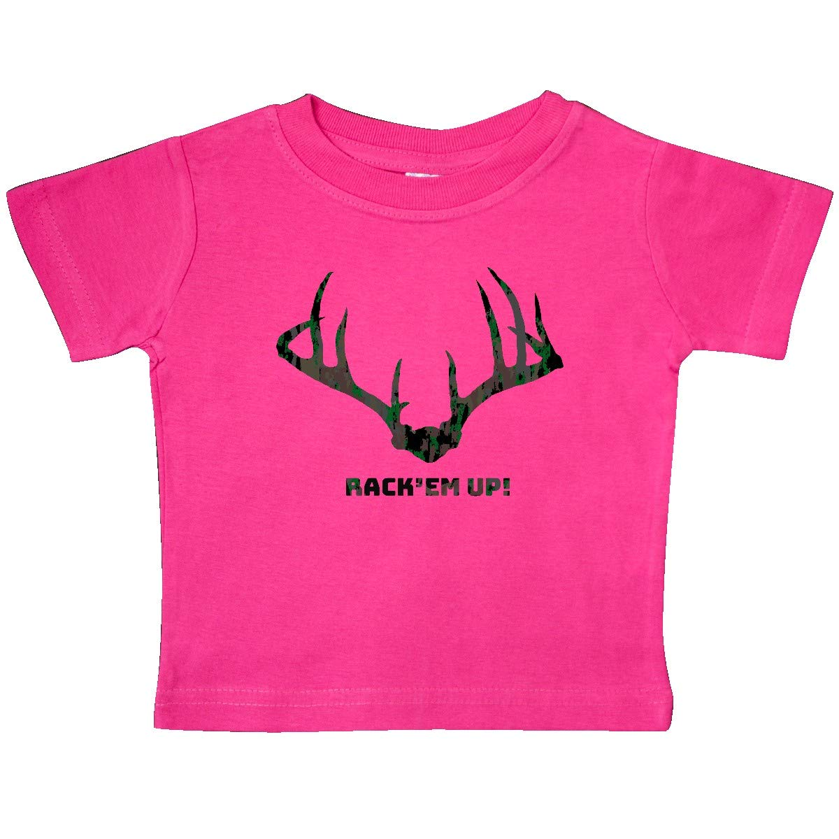 inktastic Rack Em Up in Camo Baby T-Shirt