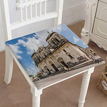 Amazon.com: Mikihome Squared Seat Cushion Cathedral Central ...