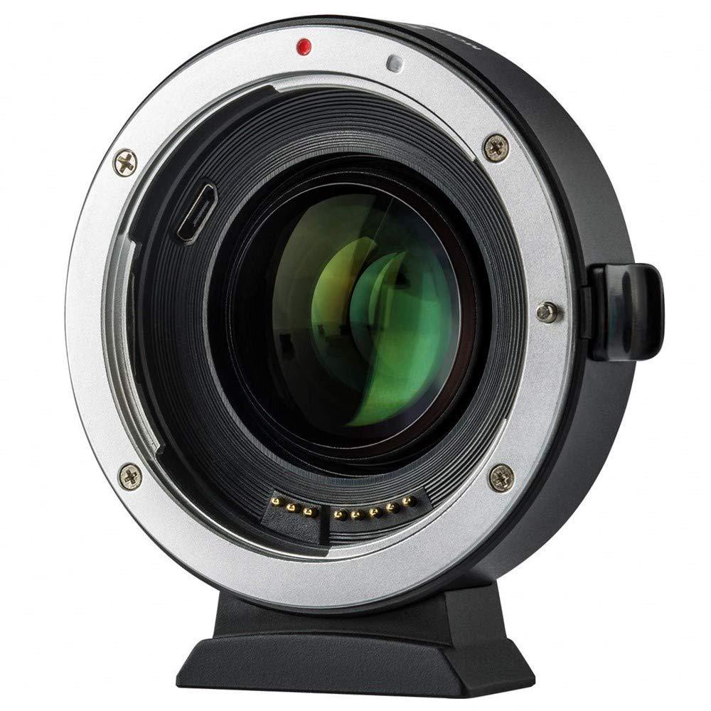 VILTROX EF-FX2 Auto Focus Lens Mount Adapter for Canon EF Lens to Fuji X-Mount Mirrorless Camera X-T1 X-T2 X-T10 X-T20 X-A1 X-A2 X-A3 X-A5 X-A10 X-A20 X-E1 X-E2 X-E3 X-E2S X-H1 X-PRO1 X-PRO2