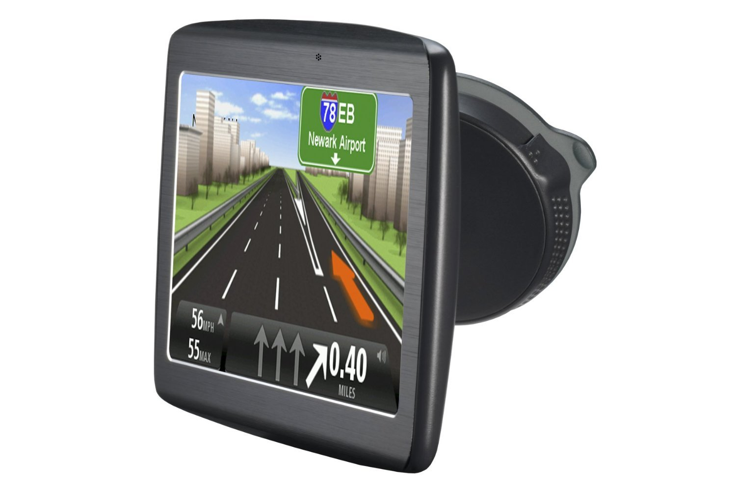 amazon com tomtom via 1515tm 5 inch gps with lifetime traffic and maps cell phones accessories