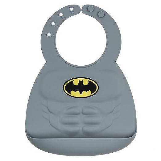 Babero de silicona de Batman, Bumkins (xmp)
