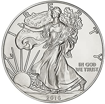 2016 American Silver Eagle $1 Brilliant Uncirculated US Mint