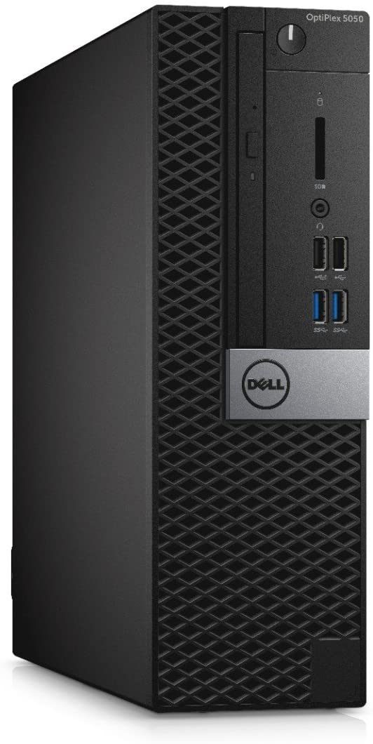 Dell OptiPlex 5050 Small Form Factor Desktop, Intel Core i5-6500, 8GB DDR4 RAM, 256GB SSD, Windows 10 Pro Black (Renewed)