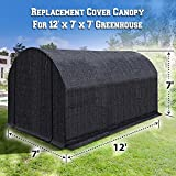 BenefitUSA 12 X 7'H Replacement Cover for Green House (Frame Not Include) (H) Greenhouse