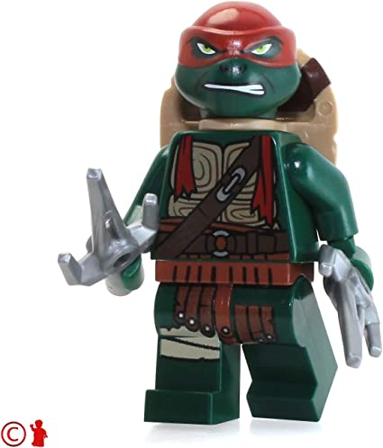 LEGO TMNT Teenage Mutant Ninja Turtles Dark Ninja Minifigure new