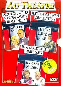 Coffret théâtre Vol. 4 (3 DVD) : Remarie-moi - Tu m'as sauvé la vie - Les voisins du dessus [Francia]