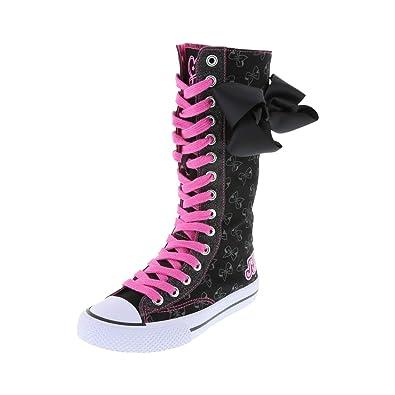 dd873fb924ab Nickelodeon Shoes Black Girls  JoJo Legacee Knee-High Sneaker 1.5 Regular