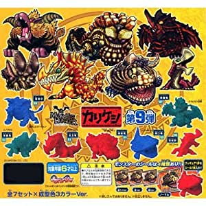 Gashapon Monster Hunter Cali poppy 9th 7 species x 3 color (all 21 body) set (japan import)