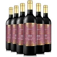 巴布瑞 孚坦帝尊干红葡萄酒 750ml*6(西班牙进口红酒)