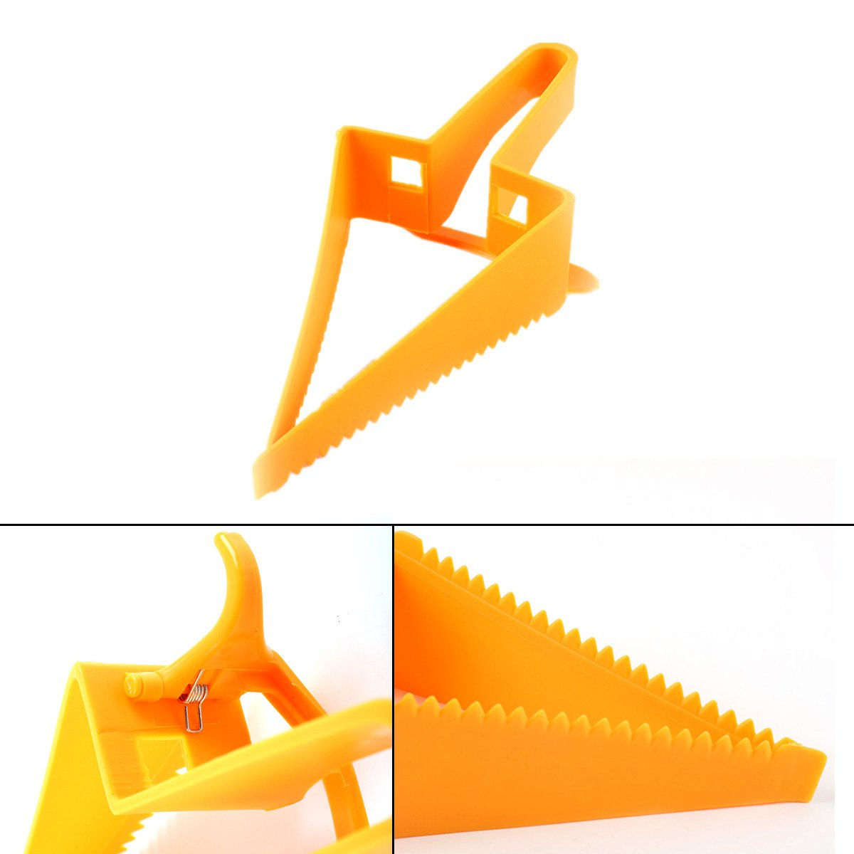 Nrpfell Triangle-Design Adjustable Cake Cutter Baking Tool Cake Slicer Baking Cutter Tool by Nrpfell (Image #7)