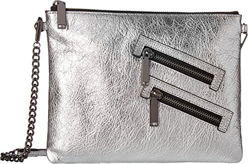 Rebecca Minkoff Women's Jon with Chain Strap Silver One Size