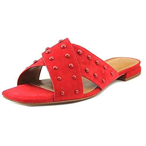 29294f38b09d Image Unavailable. Image not available for. Color  H Halston Womens Nora  Dress Square Toe Slide ...