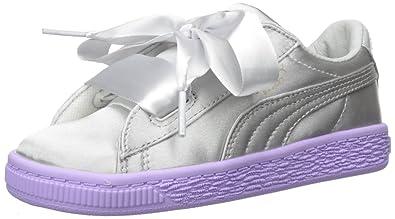 new styles 34443 92174 Puma Kids' Basket Heart Tween Sneaker: Puma: Amazon.in ...