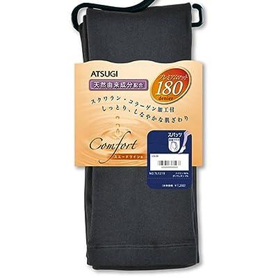 (アツギ)ATSUGI コンフォート スエードライン 180Dスパッツ L-LL ブラック(480)