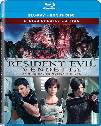 Blu-ray : Resident Evil: Vendetta (Widescreen, Dolby, AC-3, , 2 Pack)