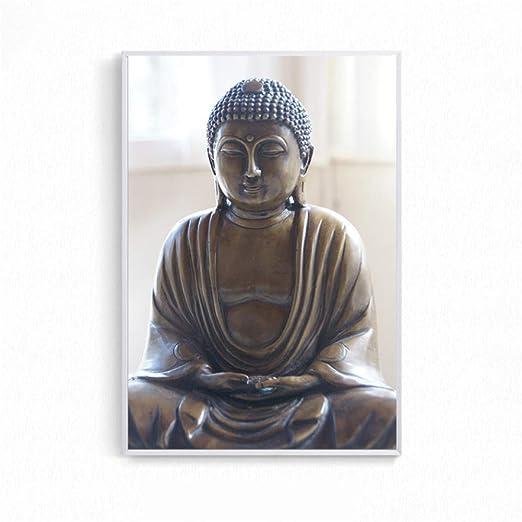 tzxdbh Arte de la Lona Resumen Buda Cartel Imagen de la ...
