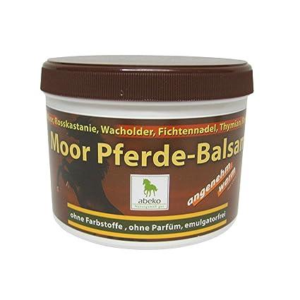 abeko Moor Caballos Bálsamo agradable wärmend 500ml: Amazon.es ...