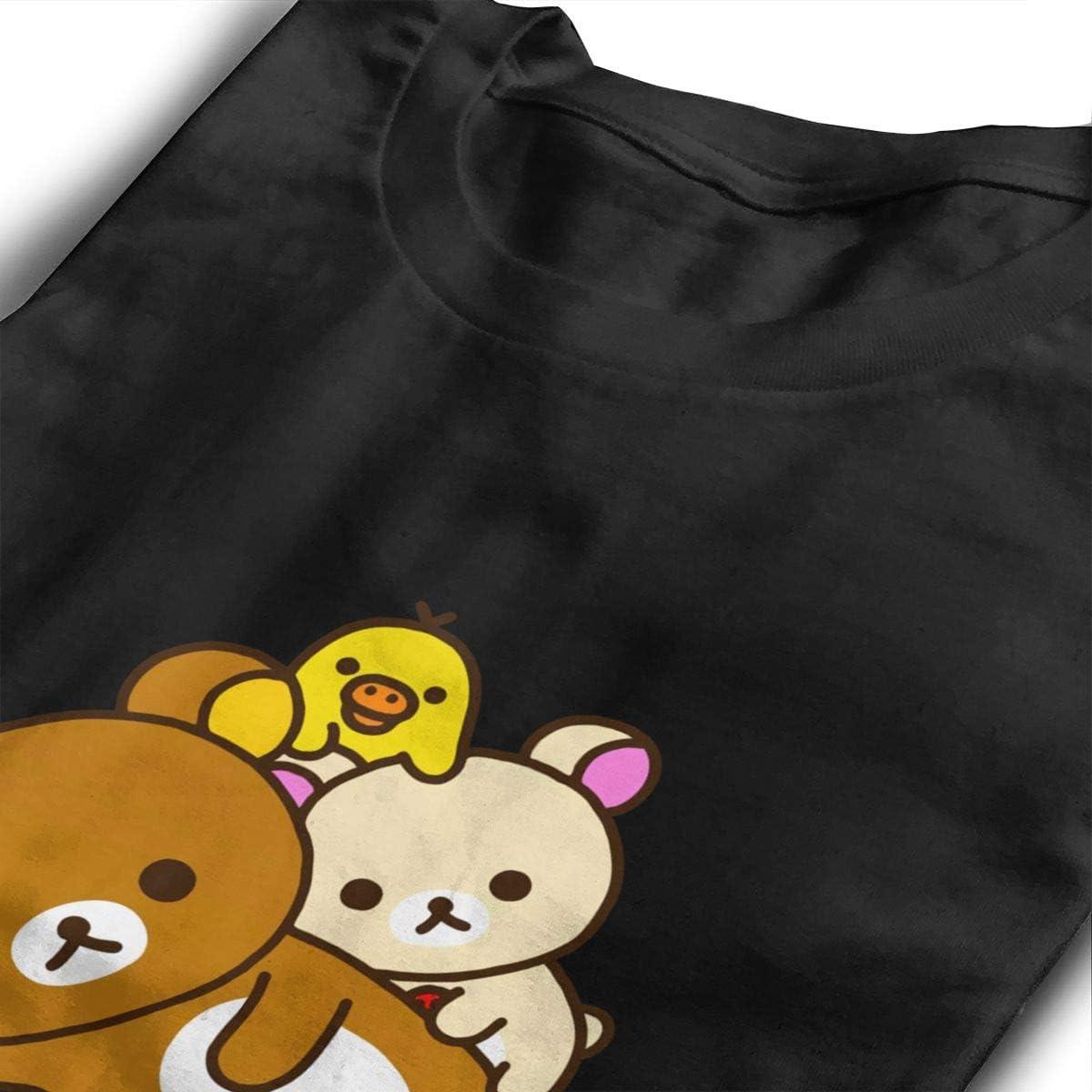 BilliePhillips Teens Rilakkuma Sports Long Sleeve T Shirts