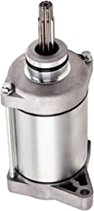 TRX420 Starter Motor Replace SMU0418,31200-HP5-601,31200-HR0-F01,SM18 12V,31200HP5601,31200HR0F01 Compatible with Honda Rancher TRX420FE TRX420FM TRX420FA TRX420TE TRX420TM ATV Starter