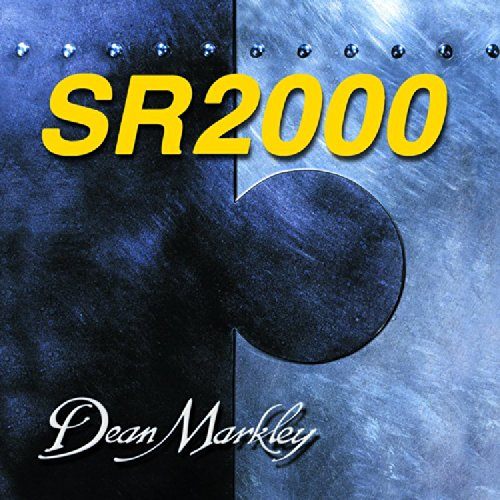 Dean Markley SR2000 Bass Strings 2689 Nickel Plated Guitar Strings, Medium Light, 4-String, ()