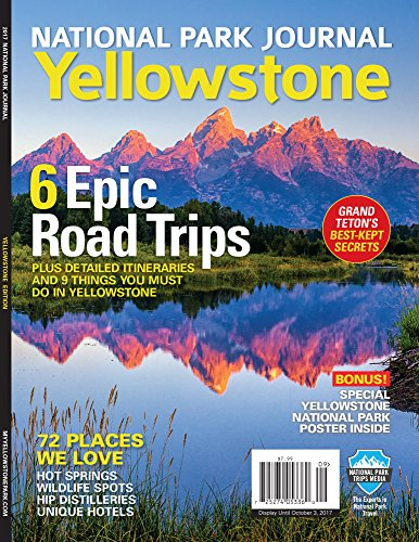 National Park Journal: Yellowstone cover