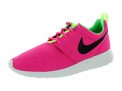 ef2feb37f064 Nike Roshe Run Pink Youths Trainers Size 5 UK  Amazon.co.uk  Shoes   Bags
